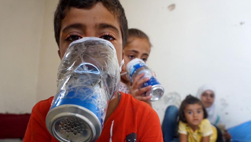 """俄军方称""""白盔""""在叙利亚绑架孤儿 炮制""""化武""""视频"""