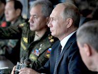 普京觀摩俄羅斯冷戰后最大規模軍演