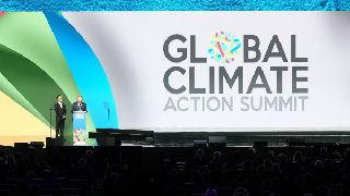 """外媒:特朗普在全球气候行动峰会遭""""围攻"""""""