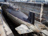 """法国开始拆解""""可畏级""""核潜艇 系欧洲最大拆船项目"""