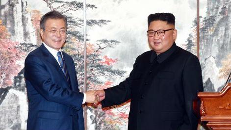 韓媒:青瓦臺稱朝韓事實上宣布戰爭狀態結束