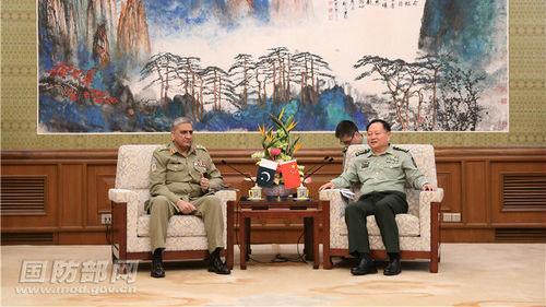 外媒:巴基斯坦陆军参谋长访华加固两国关系