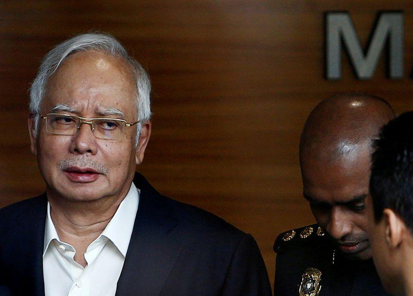 马来西亚前总理纳吉布被捕