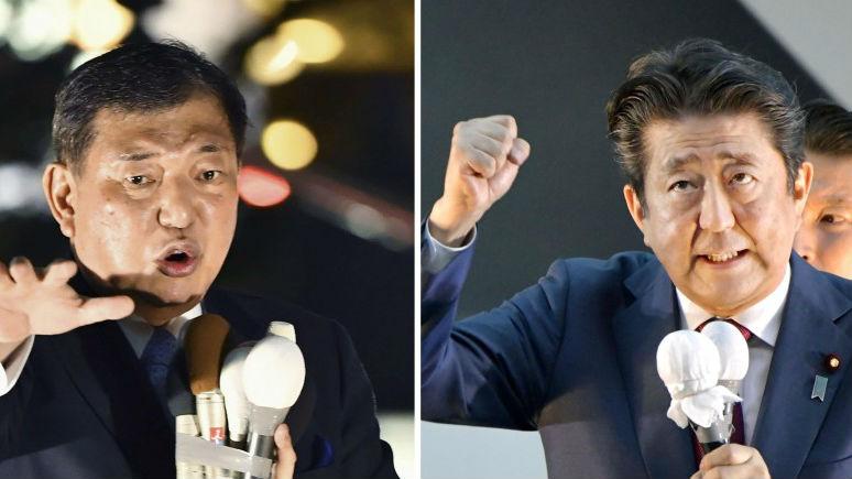 日媒:自民党总裁选举在即 安倍遥遥领先当选几成定局