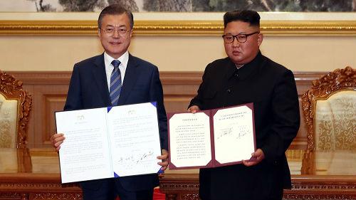 俄媒称朝韩平壤峰会意义重大:文在寅在美朝间架设桥梁