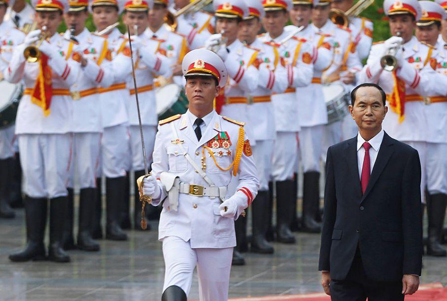 越南國家主席陳大光因病去世