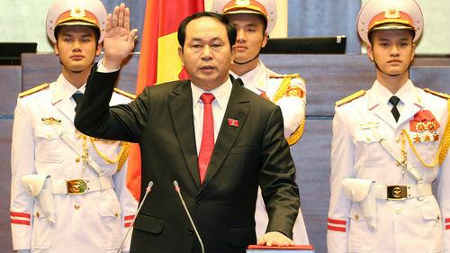 越南国家主席陈大光因罕见病毒性疾病逝世 曾6次赴日治疗