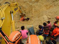 菲律宾中部山体滑坡致15人死亡、多人失踪