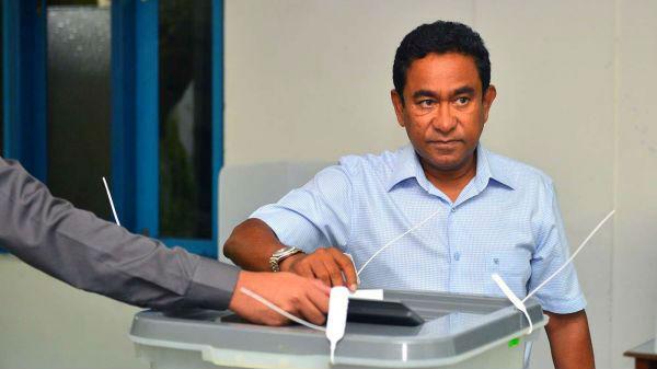 """日媒称马尔代夫大选折射中印""""博弈"""":两位候选人针锋相对"""
