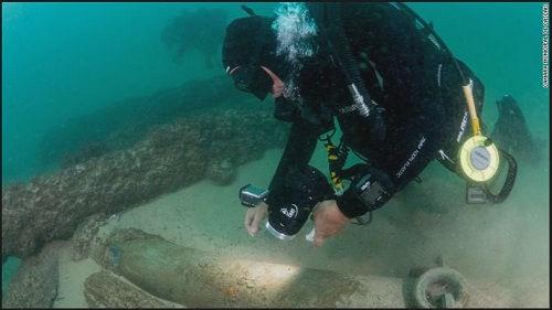 葡萄牙发现400年前沉船:载有香料容器和明代瓷器