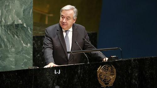 台媒:联合国与欧盟发表联合声明 力促多边主义