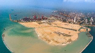 """""""一带一路""""踏访记   科伦坡""""未来之城""""初具规模,中国项目愈发深入人心"""