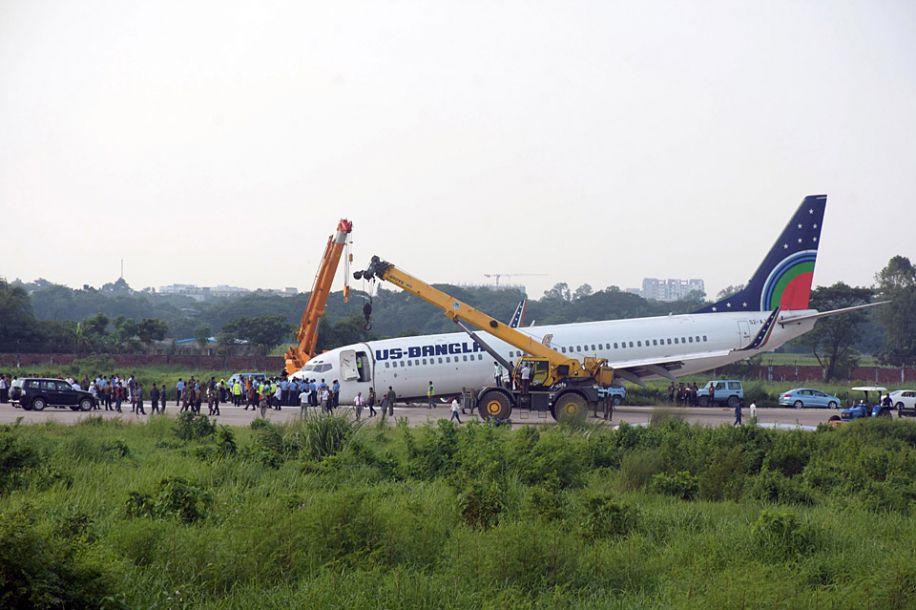 孟加拉国一客机因机械故障紧急迫降