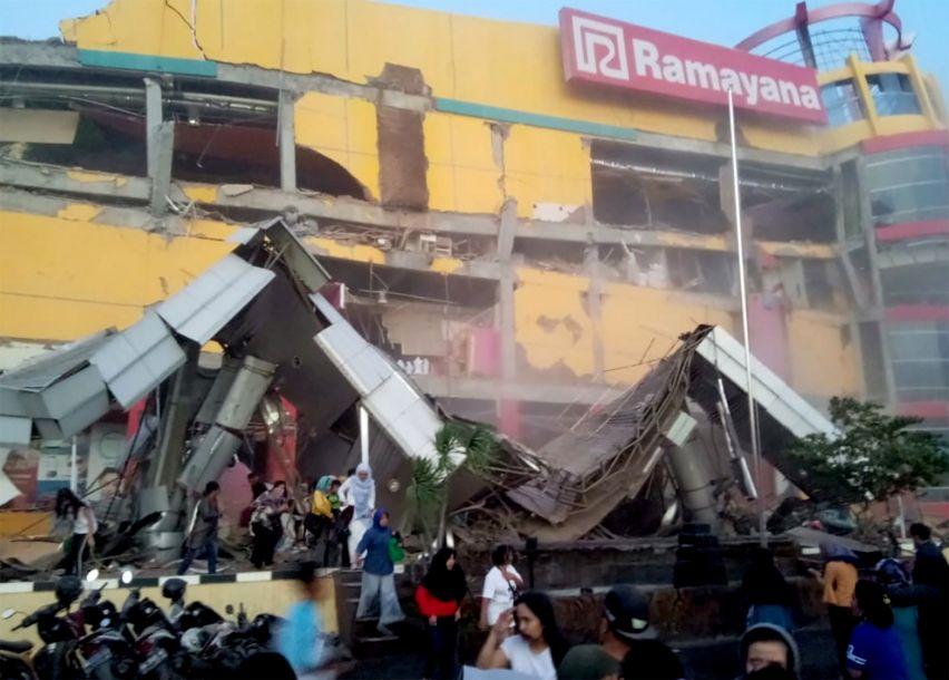 印尼地动引发海啸 殒命人数已升至384人