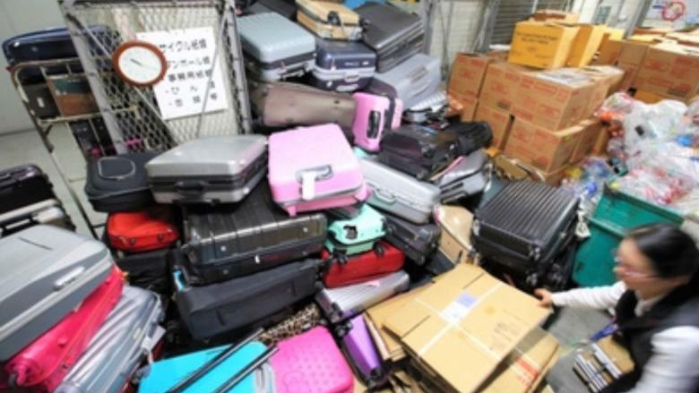 日本机场因游客丢弃旧皮箱伤脑筋 日媒把矛头指向中国游客