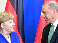 德国总理默克尔与土耳其总统埃尔多安举行会晤