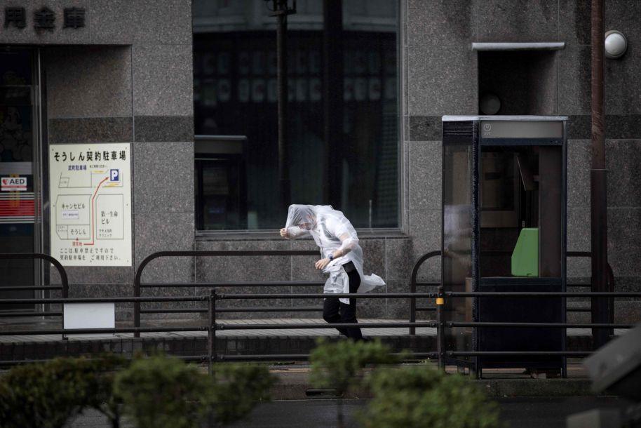 """日本气象厅称台风""""潭美""""危害可能超过""""飞燕"""""""