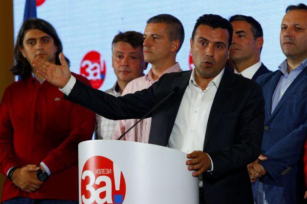 外媒:马其顿更名公投因人数不足而失败 投票率仅有34%