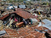 印尼强震及海啸死亡人数上升到1234人