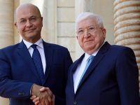 伊拉克举行总统权力交接仪式