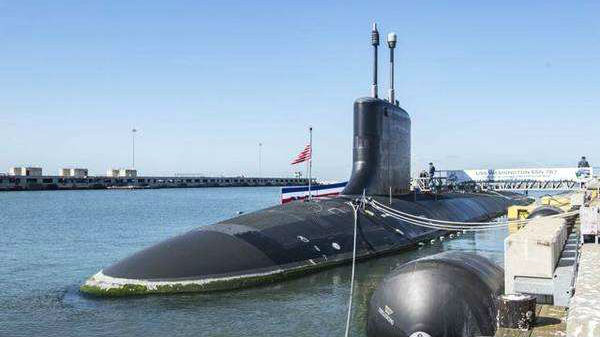 可携带巡航导弹与先辈鱼雷:美国新锐核潜艇入役