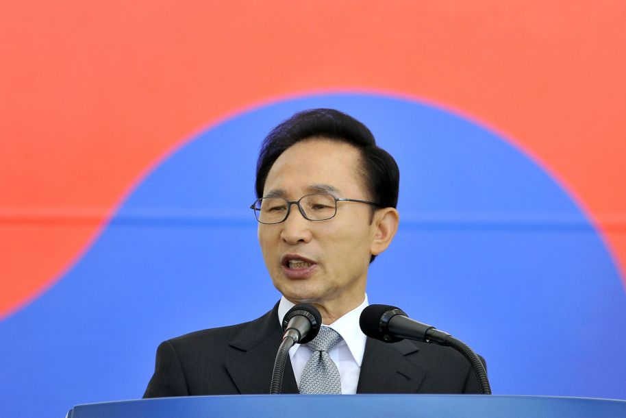 韩国前总统李明博因贪腐被判15年有期徒刑