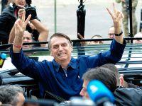 巴西总统选举投票 极右派博尔索纳罗领先