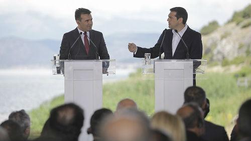 """马其顿将改名为""""北马其顿共和国"""" 已向议会递交更名案"""