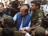 巴基斯坦前总理谢里夫叛国案开审 支持者困绕法庭