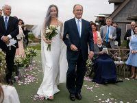 美国前总统小布什女儿低调完婚 手镯大有来头
