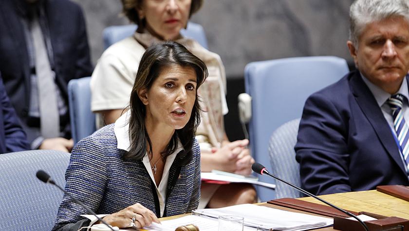 特朗普说美国常驻联合国代表黑莉将于年底离职