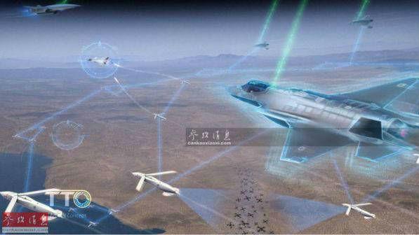 欧洲不甘落伍?空客成功测试无人机群伴飞战机作战