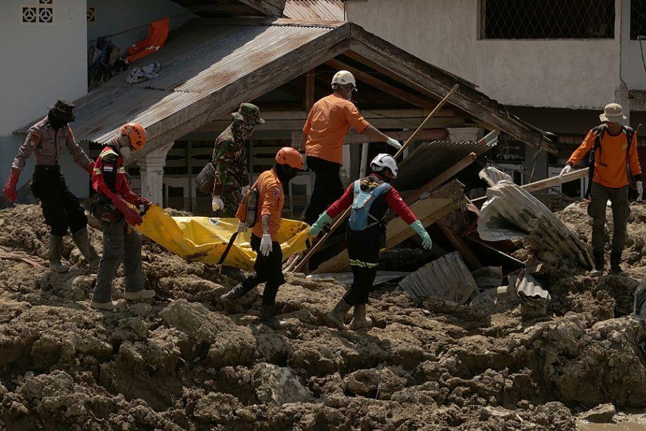 印尼地动和海啸已形成2045人殒命