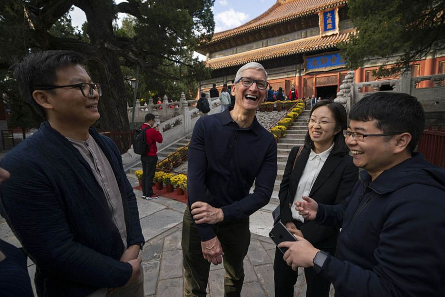 苹果公司CEO库克:盼望前沿技能能使用在推行中华传统文明中