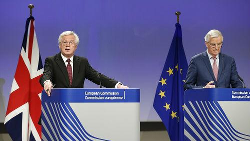 """英媒:欧盟称英国退欧协议""""近在咫尺"""" 有望下周达成"""
