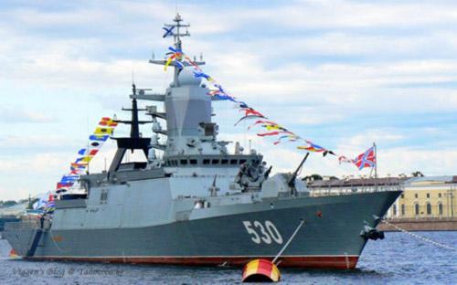 资料图:俄罗斯20380型护卫舰。