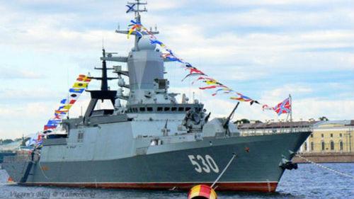 """俄轻护舰变身""""机器人"""":从发现到摧毁完全由电子大脑控制"""