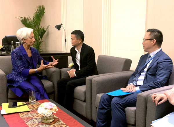 IMF总裁拉加德再次点赞支付宝:发展速度之快令人惊喜
