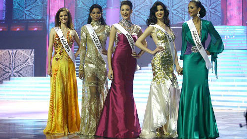 西媒:委內瑞拉女孩熱衷選美 不惜利用雙重國籍代表他國參賽