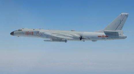 美媒称中国水师摆设轰-6J 作战范畴将笼罩南海