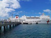 中国海军舰艇首访多米尼克