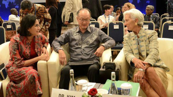 全球衰退会来吗?IMF巴厘岛年会蒙阴影