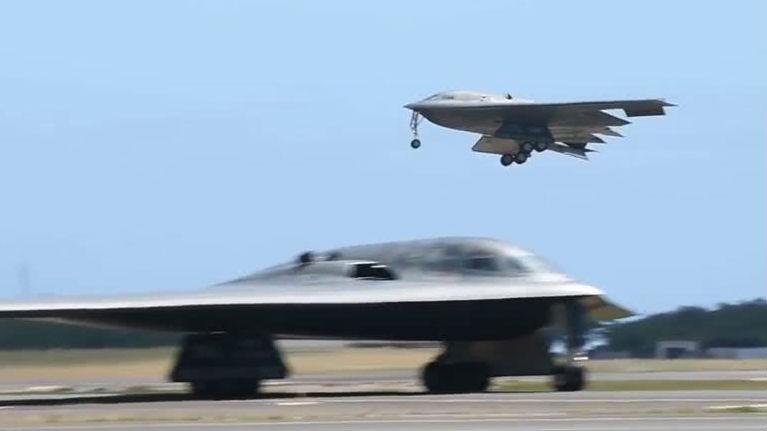 美媒:B-2进驻夏威夷意在针对中国