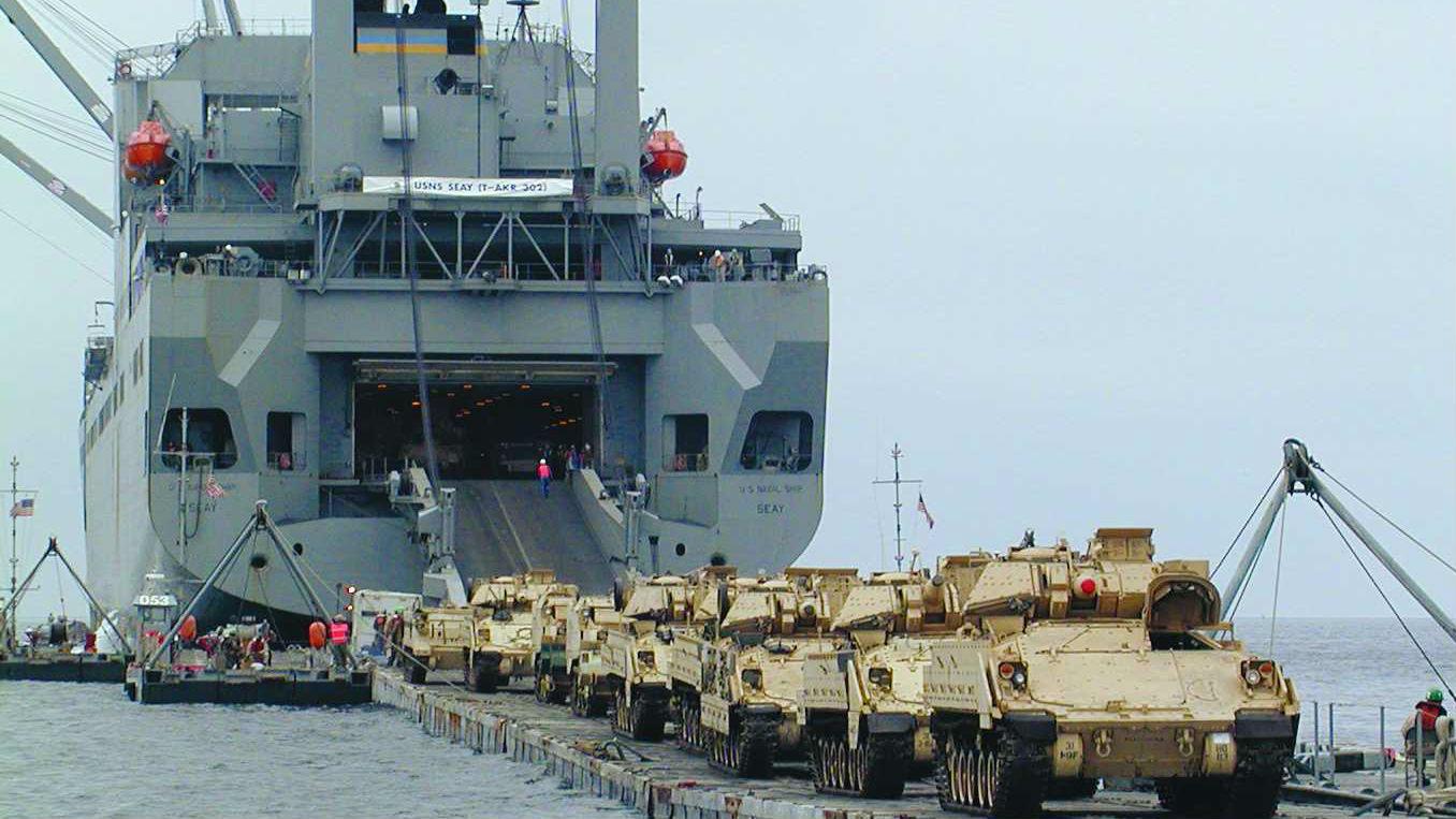 """美海军战略海运能力滑坡,""""抗俄""""部队或难抵彼岸"""