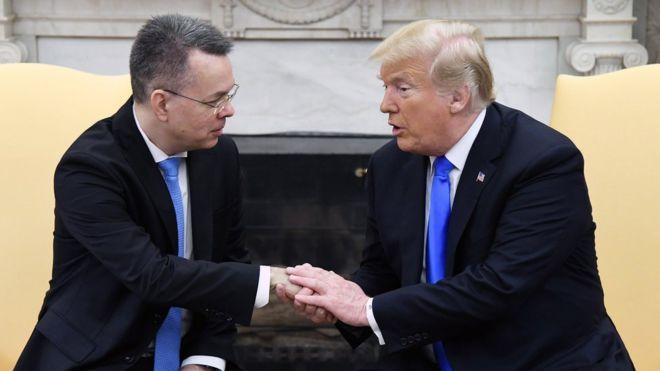 土耳其终于放了特朗普想要的人,但两国关系重归于好言之尚早