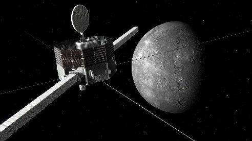 日媒:日欧水星探测器即将发射升空 7年后抵达水星