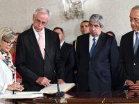 葡萄牙政府新任部长宣誓就职
