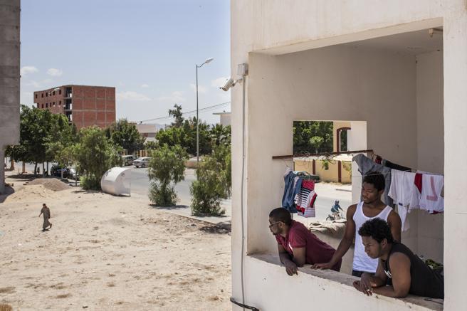 图片故事:突尼斯,欧洲的难民后院