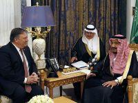 美国国务卿蓬佩奥访问沙特