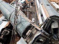 摩洛哥一火车脱轨 造成数十人死伤